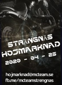 Cancelled Strängnäs Hojmarknad 2020 @ Åkers Ishall