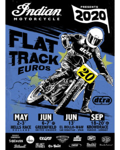 Cancelled according to Corona new date later this year Hells Race NL - Flat track Euros 2020
