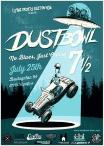 Dustbowl 7 1/2 – No Blues, Just Cruise Cancelled