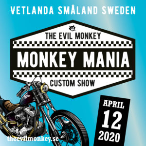 Monkey Mania - postponed new date after Easter @ Hot Rat Mc Clubhouse